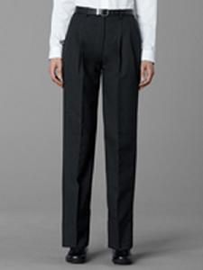 Women's Pleated Trouser