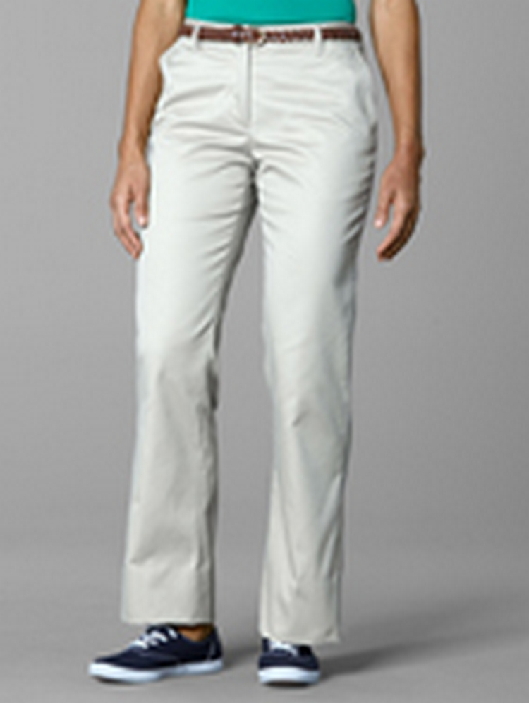 Women's Flat Front Straight Pants
